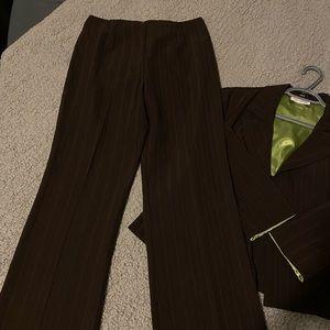Vintage Pinstripe Blazer and Pants Set